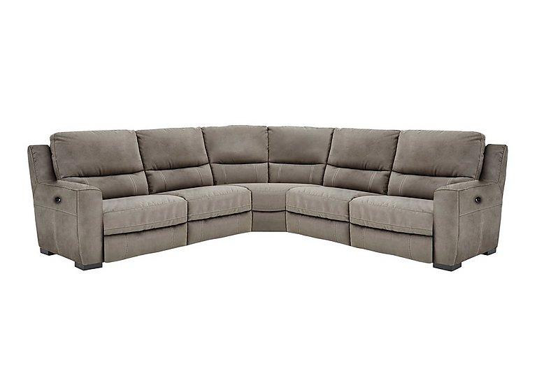 Rodeo Fabric Recliner Corner Sofa