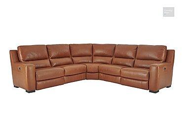 Rodeo Leather Recliner Corner Sofa  in {$variationvalue}  on FV