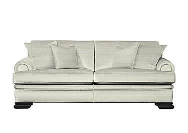 Bardot 4 Seater Fabric Sofa in Dolce Magnesium on FV