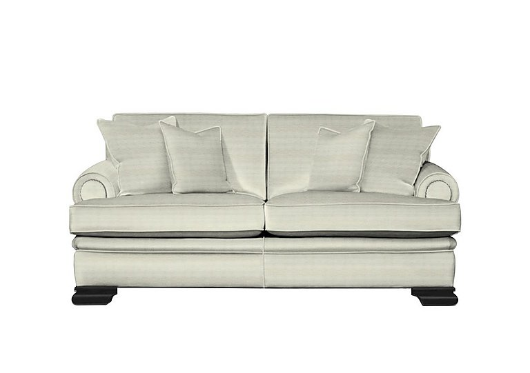 Bardot 3 Seater Fabric Sofa in Dolce Magnesium on FV