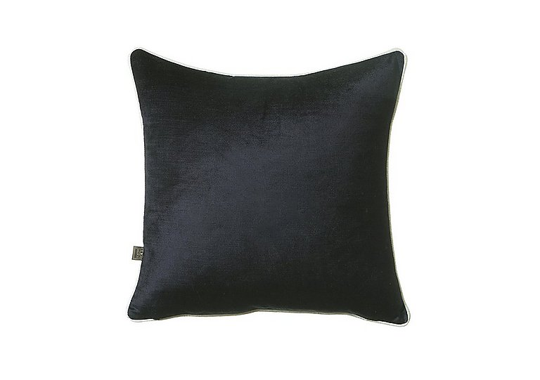 Velvet Sheen Duo Cushion in Black And White on FV
