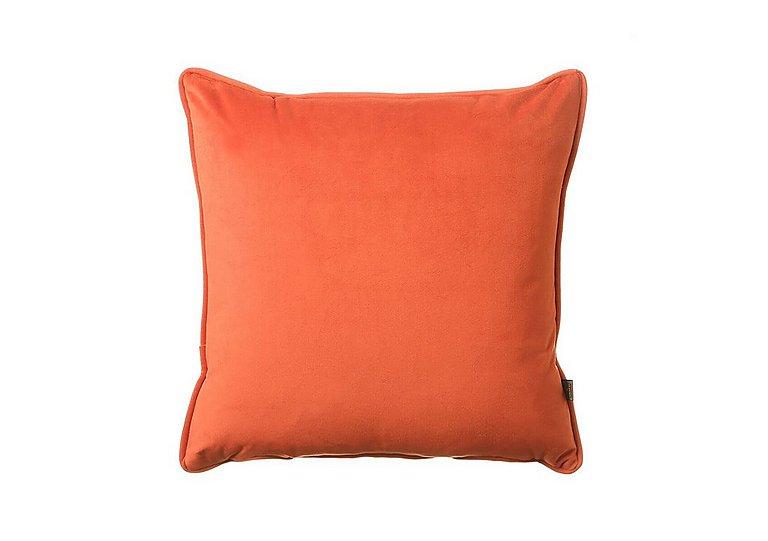 Velour Cushion in Orange on FV