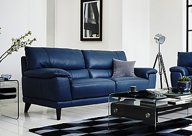 Pacific 3 Seater Leather Sofa in  on FV
