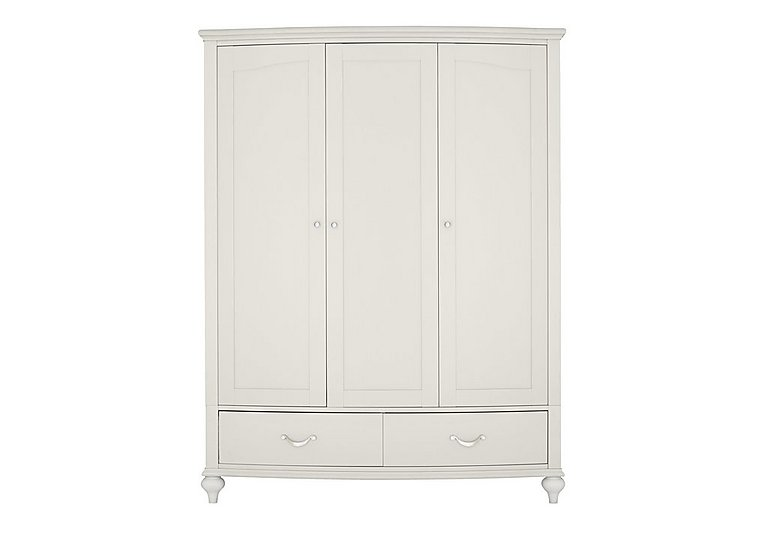 Annecy Triple Wardrobe in Soft Grey on FV