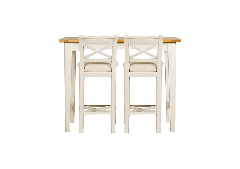 Arles Bar Table And 2 Stools Furniture Village