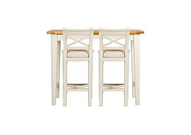 Arles Bar Table and 2 Bar Stools