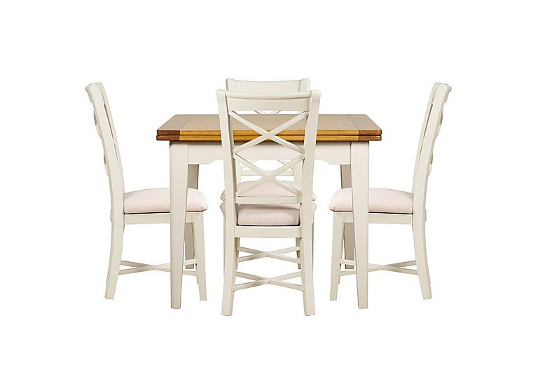 Arles Flip Top Dining Table and 4 Chairs