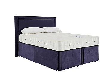 Revive Natural Splendour Pocket Sprung Divan Set in 559 Imperio 601 Purple on FV