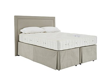 Revive Natural Splendour Pocket Sprung Divan Set in 564 Imperio 903 Stone on FV