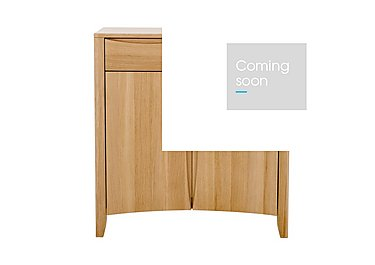 Artisan 2 Door Sideboard in Oak Clear Matt Fiinsh on FV