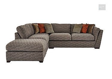 Bailey Fabric Corner Chaise Sofa with Footstool  in {$variationvalue}  on FV