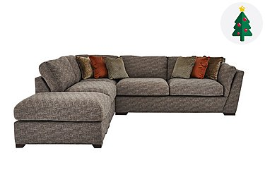 Corner sofas fabric chaise sofas furniture village for Furniture village sofa