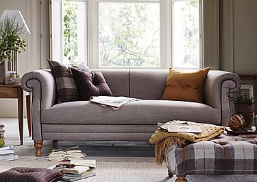 New England Hartford 3 Seater Fabric Sofa in  on FV