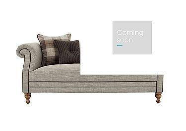New England Hartford 3 Seater Fabric Sofa in Mrch Lin Cloud Con-Pipe Wo-Ft on FV