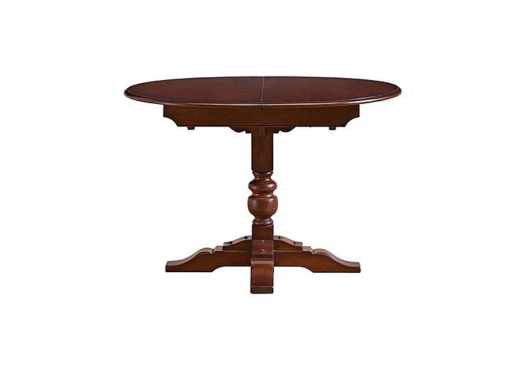 Old Charm Aldeburgh Oval Extending Dining Table in Chestnut Traditional on Furniture Village