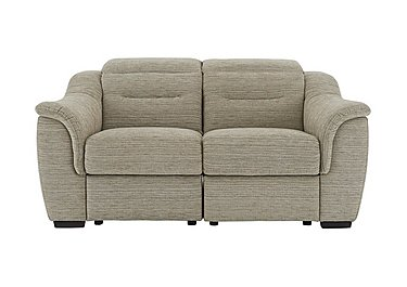 Lowry 2 Seater Fabric Sofa in B914 Victoria Pebble on FV