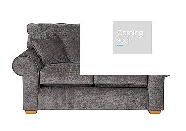 Portobello 2 Seater Fabric Sofa in Shimmer Platinum on FV