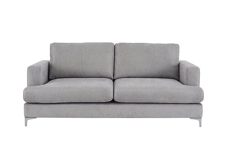 Sofia 2.5 Seater Fabric Sofa in 13166-18623 Boda Onyx on FV