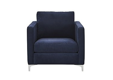 Sofia Fabric Armchair in 11 Bellagio Azure on FV