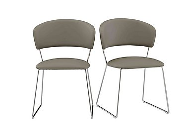 Eminence Dining Chairs in Taupe on FV