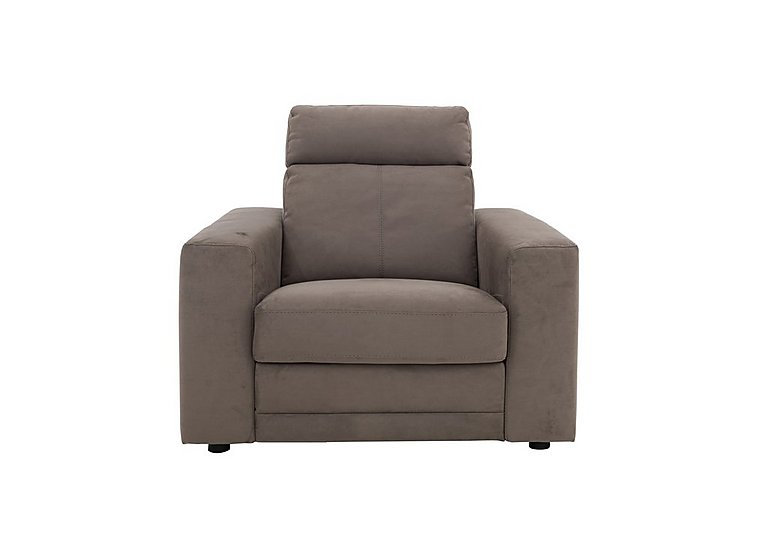 Movimento Highback Fabric Power Recliner Armchair with Power Headrest