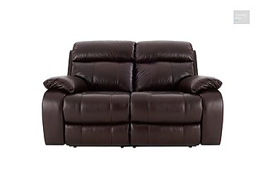 Moreno 2 Seater Leather Recliner Sofa  in {$variationvalue}  on FV