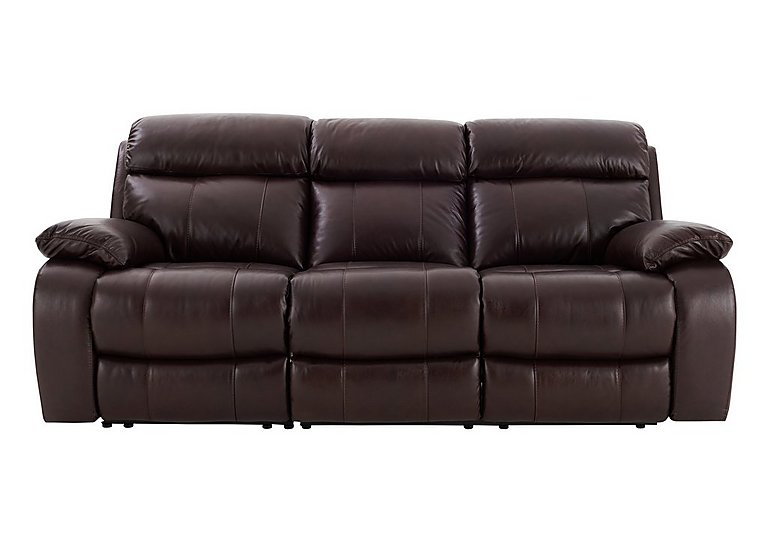Moreno 3 Seater Leather Recliner Sofa For 1395 Home Garden Furniture Deals
