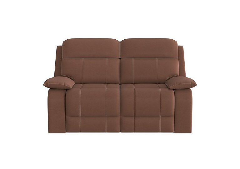 Moreno 2 Seater Fabric Recliner Sofa in Bfa-Blj-R05 Hazelnut on Furniture Village