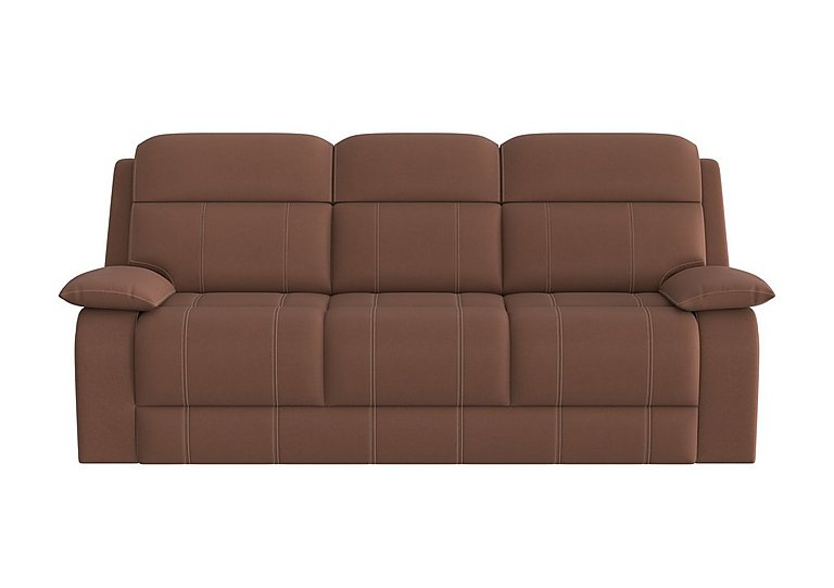 Moreno 3 Seater Fabric Recliner Sofa