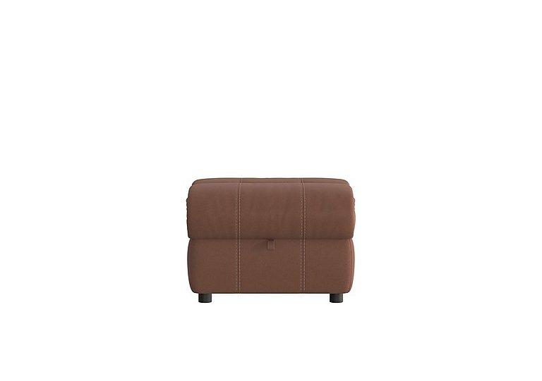 Moreno Fabric Storage Footstool in Bfa-Blj-R05 Hazelnut on FV