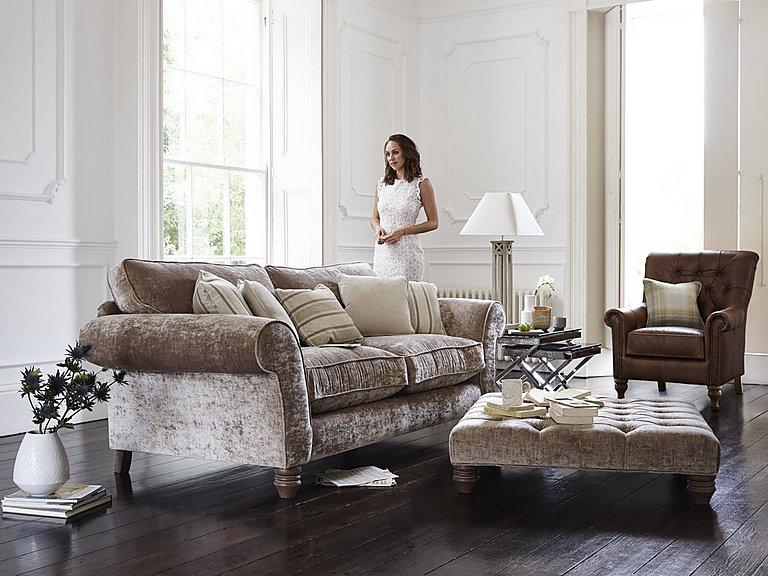 Furniture Village Sofas lancaster 3 seater fabric sofa - furniture village