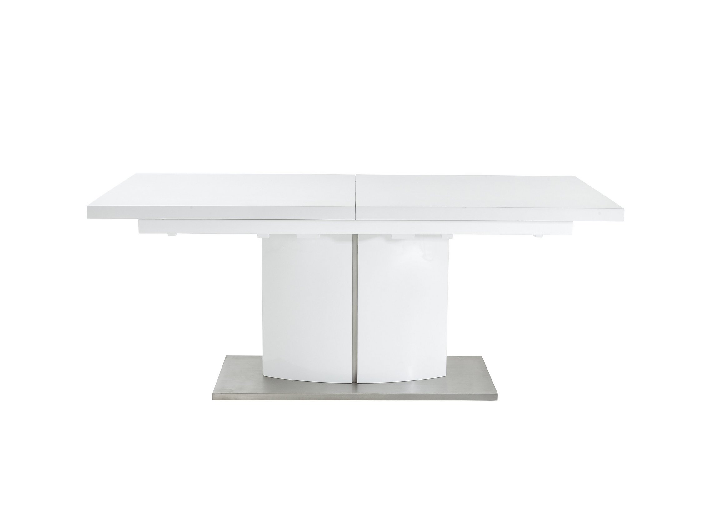 Extending Coffee Table Grande White Extending Table And 4 Chairs Furniture Village
