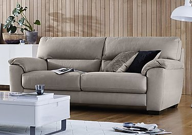 Shades 3 Seater Fabric Sofa in  on FV