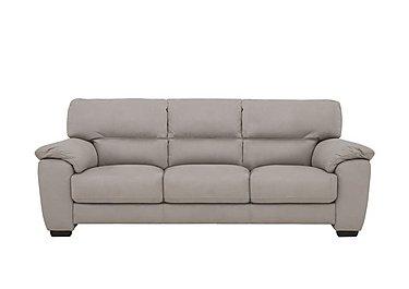 Shades 3 Seater Fabric Sofa in Bfa-Blj-22 Dove Grey on FV