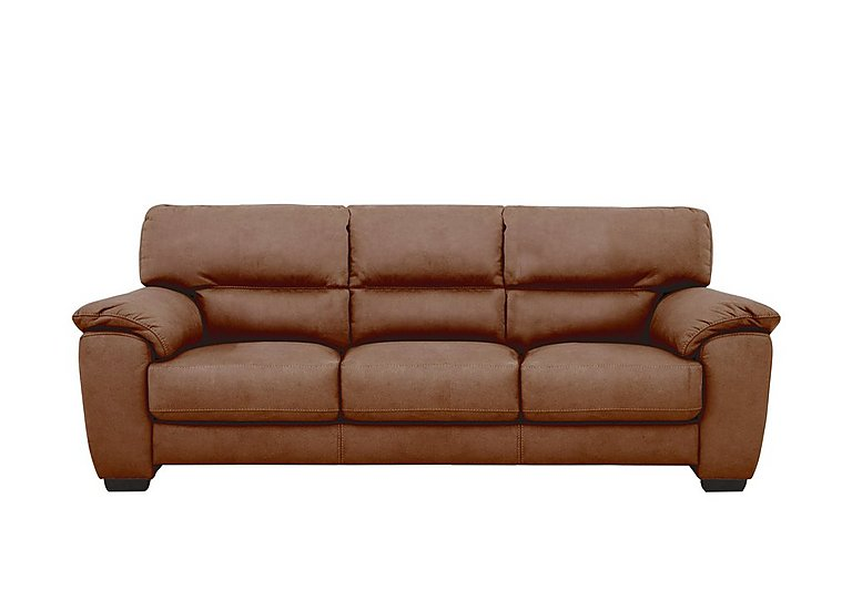 Shades 3 Seater Fabric Sofa
