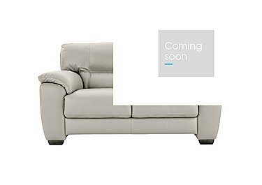 Shades 2 Seater Leather Sofa in Bv-946b Silver Grey on FV