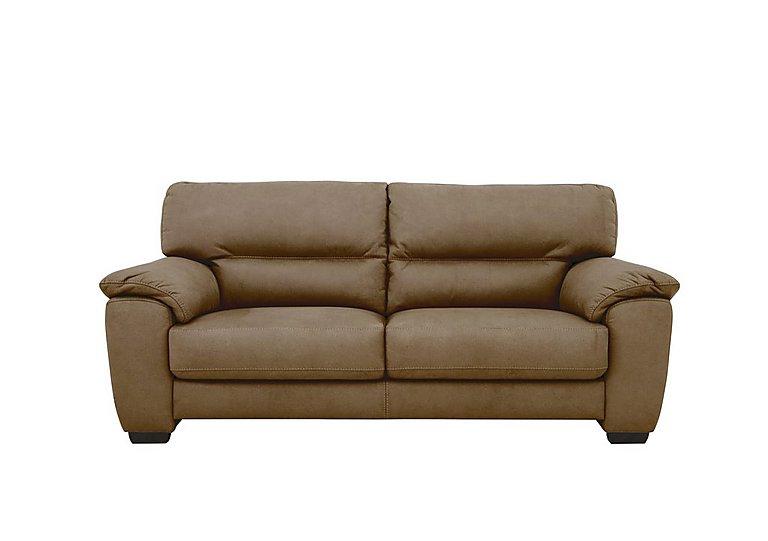 Shades 3 Seater Fabric Sofa