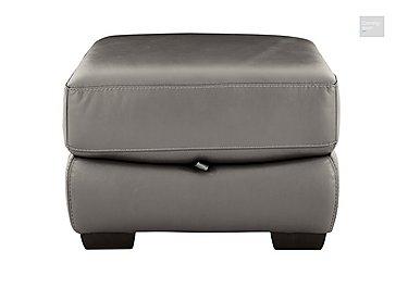 Shades Leather Storage Footstool  in {$variationvalue}  on FV