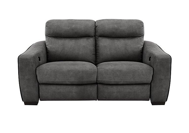 Cressida 2 Seater Fabric Recliner Sofa in Bfa-Blj-R16 Grey on FV