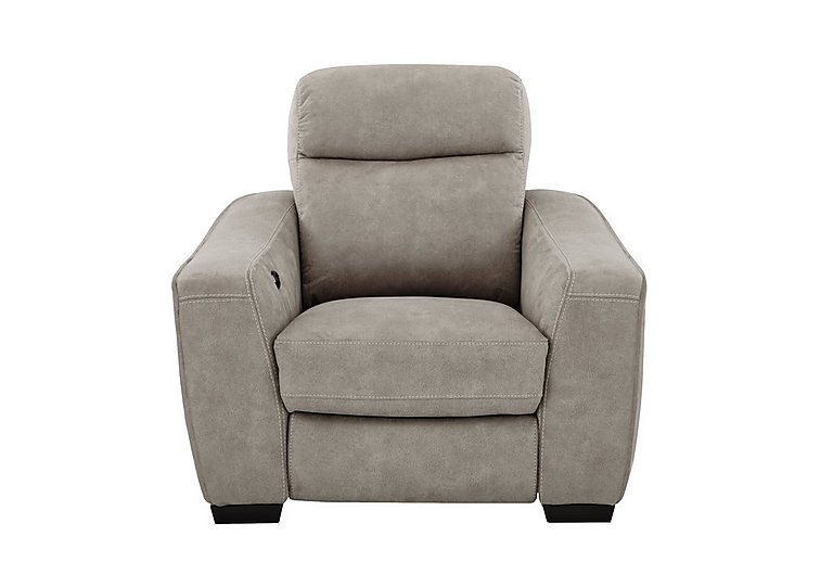 Cressida Fabric Recliner Armchair in Bfa-Blj-R946 Silver Grey on Furniture Village