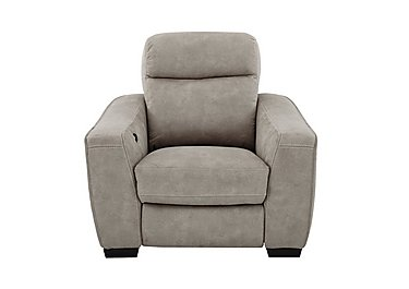 Cressida Fabric Recliner Armchair in Bfa-Blj-R946 Silver Grey on FV