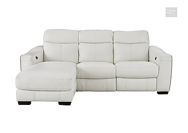 Cressida Leather Recliner Chaise Sofa  in {$variationvalue}  on FV