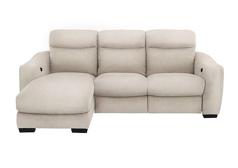 Cressida Fabric Recliner 3 Seater Chaise Sofa