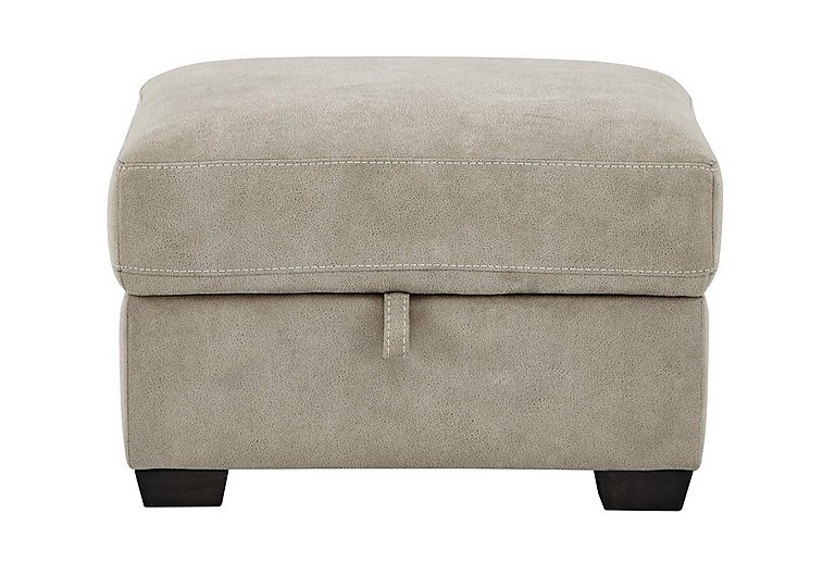 Cressida Fabric Storage Footstool in Bfa-Blj-R946 Silver Grey on FV