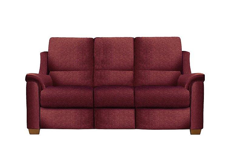 Albany 3 Seater Fabric Recliner Sofa