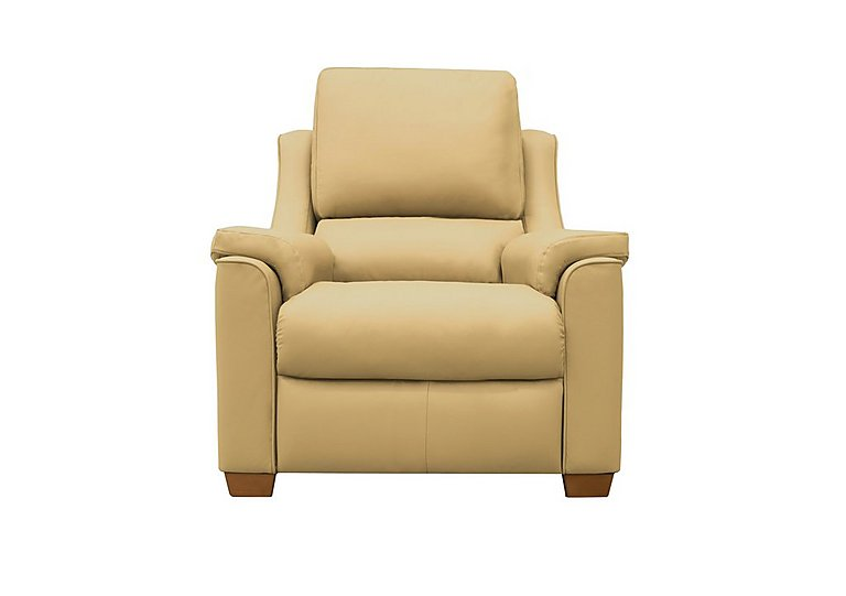 Albany Leather Recliner Armchair