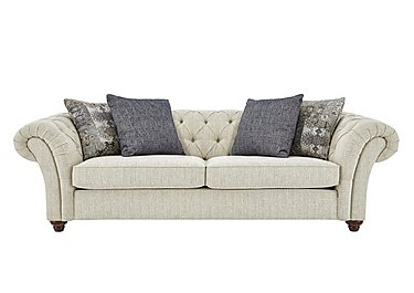 Beatrice 3 Seater Fabric Sofa