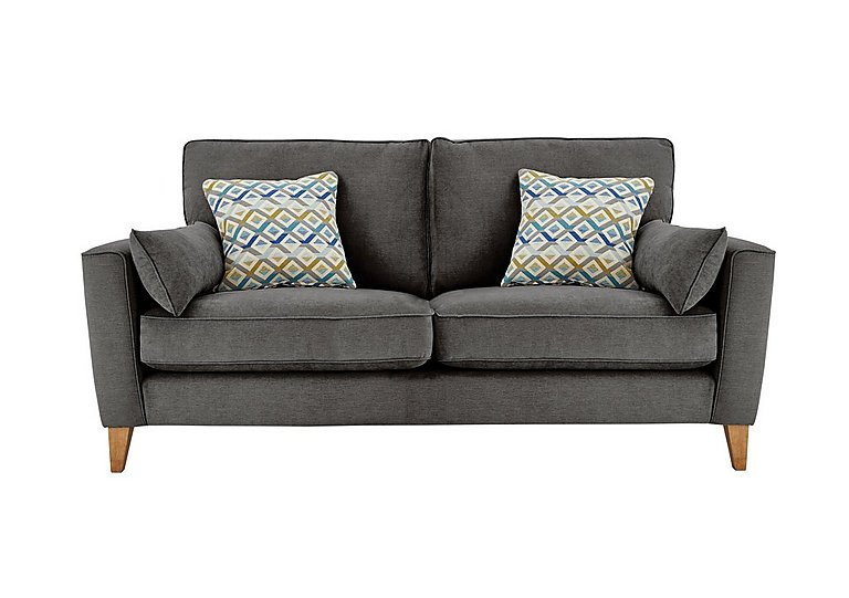 Copenhagen 3 Seater Fabric Sofa