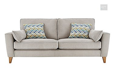 Copenhagen 4 Seater Fabric Sofa  in {$variationvalue}  on FV