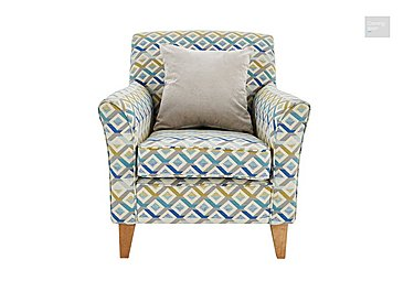 Copenhagen Fabric Accent Armchair  in {$variationvalue}  on FV